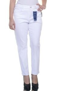 Charter-Club-Women-039-s-Bright-White-Ankle-Jeans-NWD-Size-14