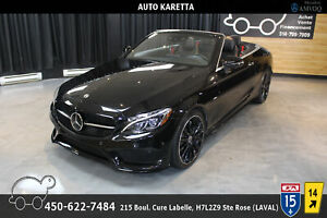 2018 Mercedes-Benz C-Class C 300 4MATIC CONVERTIBLE/SPORT AMG/NIGHT EDITION