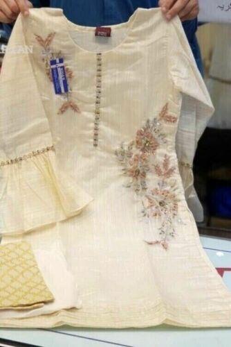 Asian Indian Pakistani Ready Made Suit Salwar Kameez shalwar S,M,L