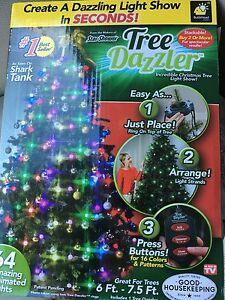 image is loading bulb head tree dazzler christmas tree light show