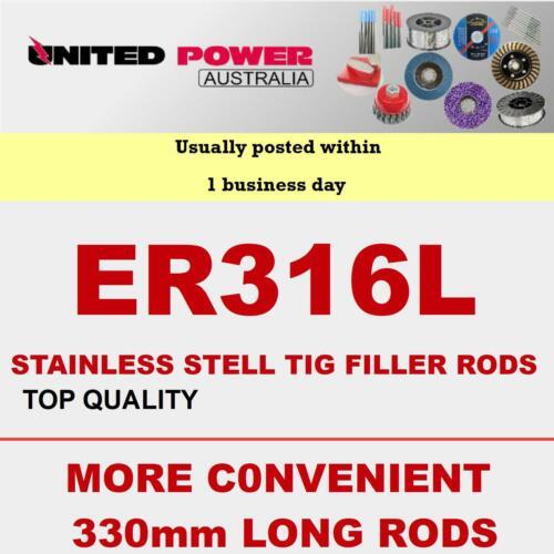 400g 1.6mm 330mm LONG  ER316L STAINLESS STEEL TIG FILLER RODS **TOP QUALITY**