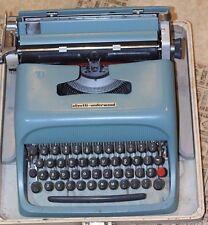Vintage Olivetti Underwood Studio 44 Manual Typewriter Made in Barcelona Spain