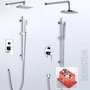 regendusche unterputz duschset duschsäule duscharmatur brause set ... - Regendusche Unterputz