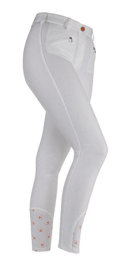 Shires aubrion Thompson Pantaloni in in in BiancoDonna 73f