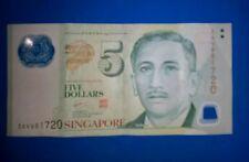 SINGAPORE $5 Dollar Polymer