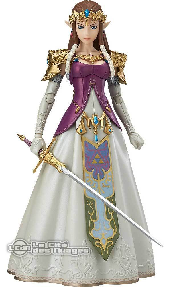 Figma The Legend of Zelda Twilight Princess Zelda Action Figure 14 cm GOODSMILE