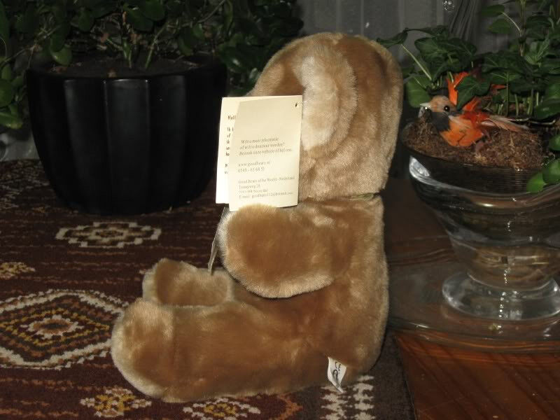 Dutch Good Good Good Bears of the World Charity Teddy Bear Plush a0fb64