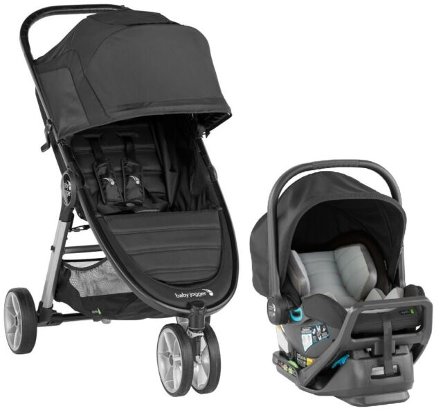 Baby Jogger City Select Car Seat Stroller Travel System In