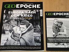 GEO EPOCHE NO. 77 - EUROPA NACH DEM KRIEG  MIT DVD: DEUTSCHLAND ZWISCHEN 45 & 49