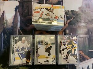2020-21 Upper Deck Series 1 Hockey Single Base Cards 1 to 100 - buy 3 get 5 free