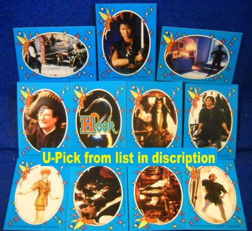 "1991 TOPPS /""HOOK THE MOVIE/"" STICKER U-Pick-1 ROBIN WILLIAMS"