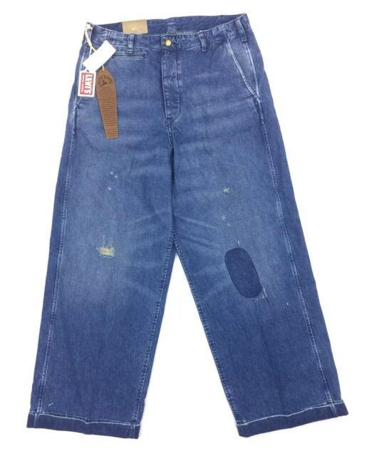 60ce6cf270a7c3 NEW Levis Vintage Clothing LVC 1920s Balloon Denim Jeans Mens Size 33  945030002