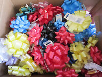 Christmas Wholesale Assorted Large Box Of Bows 4 Pound Box 100 + Bows