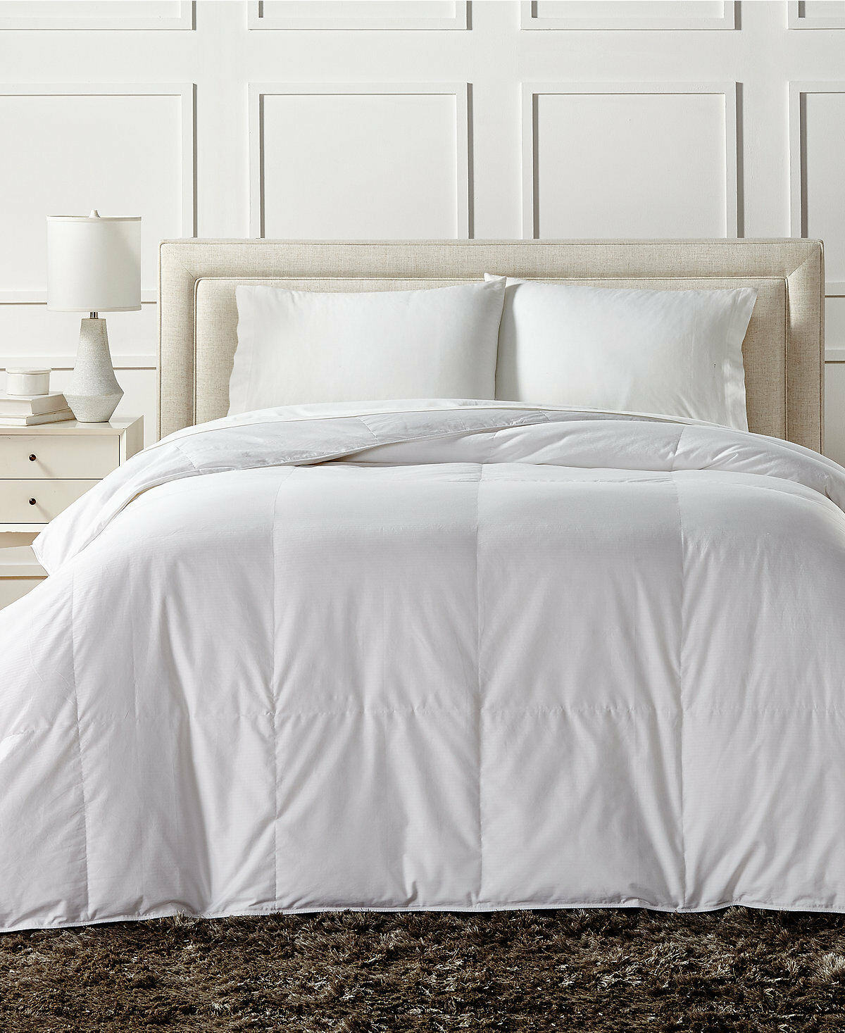 Charter Club European Weiß Down Light Weight TWIN Comforter Bedding  280 i067