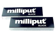 2 paquetes de Modelado Masilla Epoxi Negro Milliput Esculpir Cerámica Pizarra Reparación X1019a