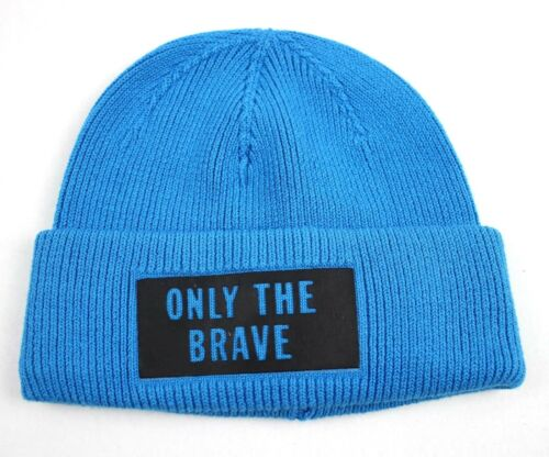 Diesel Men/'s Blue Beanie ONLY THE BRAVE Stan Verretto 00SVF5-OSAMI-8HC