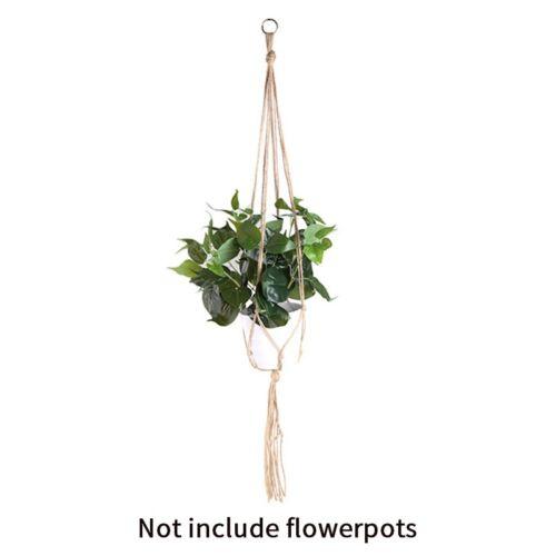 Plant Hanger Macrame Hanging Basket Net Rope for Flower Pot Holder Home Ornament