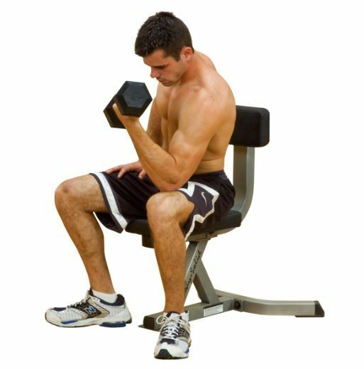 Body-Solid GST20 Utility Stool Bench