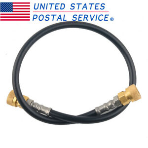 """12/"""" 6000psi Compressed Air Hose Paintball HPA Fill Whip"""
