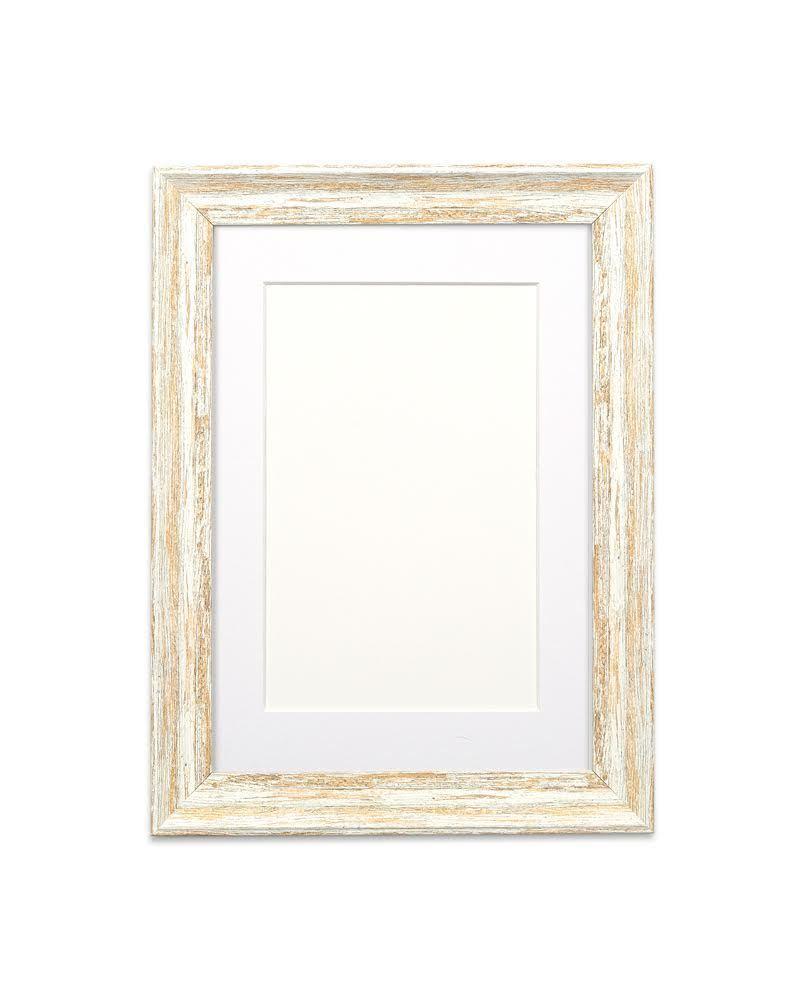 vintage distressed wood effect picture photo poster frame. Black Bedroom Furniture Sets. Home Design Ideas