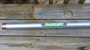 SAGE-XP-Z-Axis-Tube-Case-for-a-10ft-4pc-Fly-Rod-Saltwater-Striped-Bass-Landmark