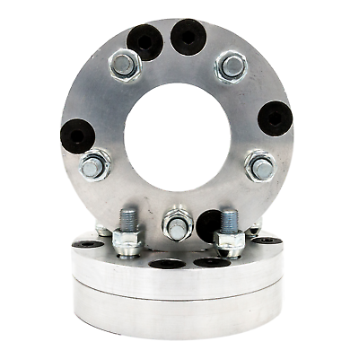 """5x120 to 5x100 US Made Wheel Adapters 1.25/"""" Thick 12x1.5 Studs 72.6 Bore x 2"""