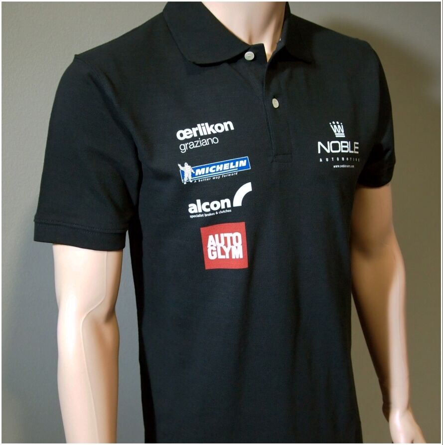 NOBLE WORKS PRINTED POLO SHIRT