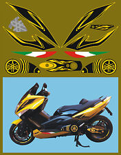 Yamaha TMAX  Kit completo - adesivi/adhesives/stickers/decal