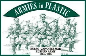 Armies-In-Plastic-AIP-1-32-Russo-Japanese-War-1904-1905-Russian-Army-5485-NEW