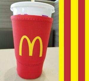 McDonald-s-Koozie-Coozie-JAVA-SOK-Neoprene-Large-Plastic-Cup-Sleeve-32-oz