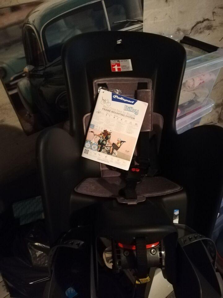 Cykelstol, op til 22 kg , Polisport Bilby