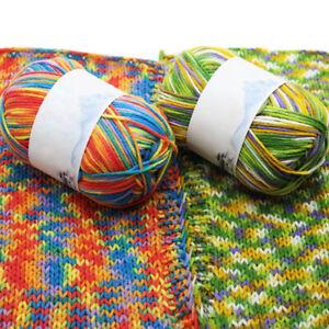 30 Colors Soft Crochet Yarn DIY Hand Milk Baby Cotton Knitting Wool Yarn