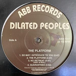 DILATED PEOPLES - THE PLATFORM (INSTRUMENTALS) (VINYL 2LP) 2000  RARE  ALCHEMIST