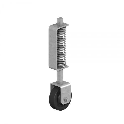 368mm Feder Beladen Tor Rad Heavy Duty Galvanisiert 0813681