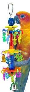 00943-Charmed-Bird-Toy-Parrot-Cage-Toys-Cages-Parakeet-Conure-Cockatiel