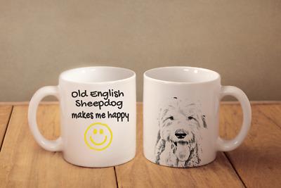 Old English Sheepdog Ceramic Coffee Mug Tea Cup 15 oz