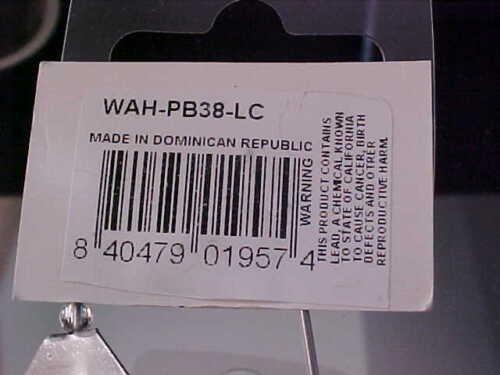 2 WAHOO 3//8oz Buzzbait WAH-PB38-LC LIME//CHART for BASS//Pike//Pickerel//Peacock