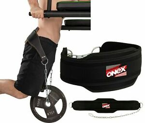 New-Pro-Dipping-Belt-Body-Building-Weight-Dip-Lifting-Chain-Exercise-GymTraining