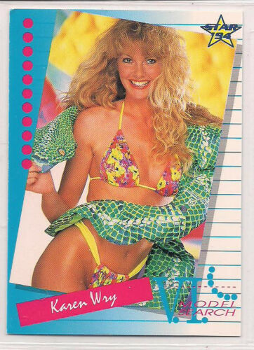1994 Venus International Model Search Karen Wry
