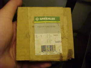 NOS-Greenlee-34253-Pair-Of-Replacement-Blades-For-754-Ratcheting-Cable-Cutter