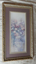 Framed Print Picture LENA LIU Urn Roses Cherub Signed & Numbered LE Chic Shabby