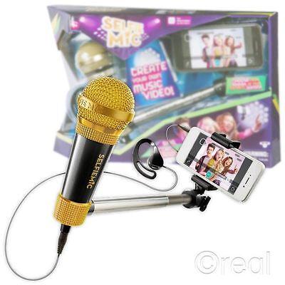 Toys & Games Karaoke Machines gaixample.org Black SelfieMic 577SLB ...