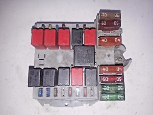 fiat ducato citroen jumper or boxer 2002 2006 year fuse box rh ebay com citroen jumper fuse box location citroen jumper 3 fuse box