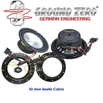 165mm Komposystem für VW T6 Caravelle ab2015 hinten Lautsprecher Set Ground Zero