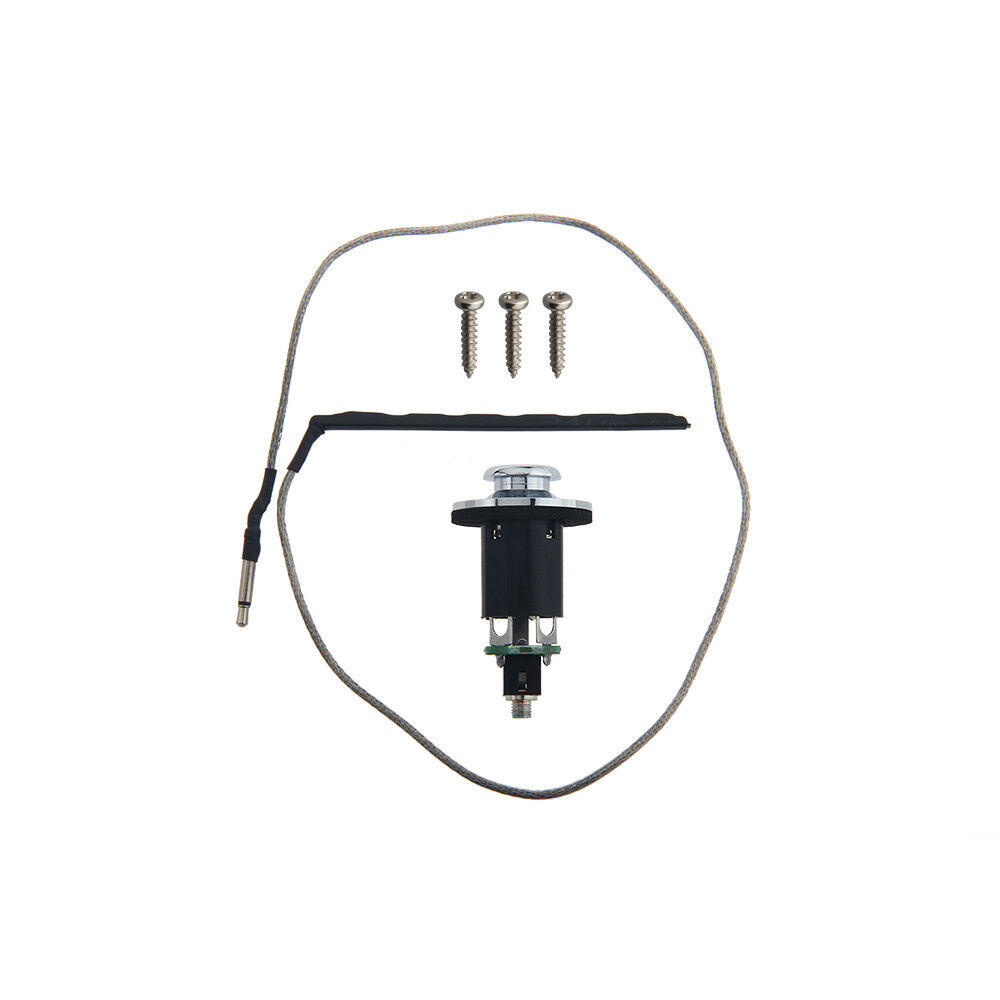 guitar piezo pickup under saddle output end pin jack for