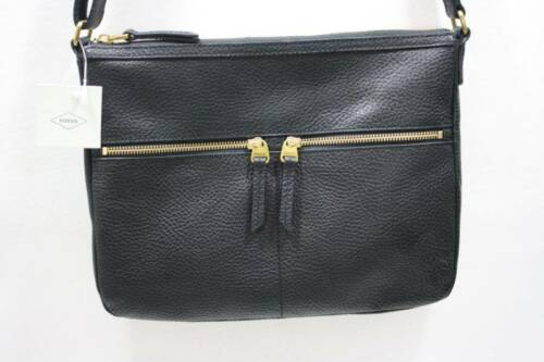 Fossil Shb1305001 723764488364 Leather Crossbody Black Large Elise Nwt Bag  0dqwHH d1a1df9789708