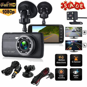 4 auto kamera full hd1080p dashcam audio recorder kfz dvr. Black Bedroom Furniture Sets. Home Design Ideas