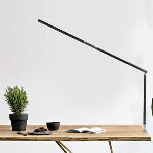 8W-LED-Schreibtischlampe-Tischlampe-Klemmleuchte-Buerolampe-Leselampe-dimmbar-GD