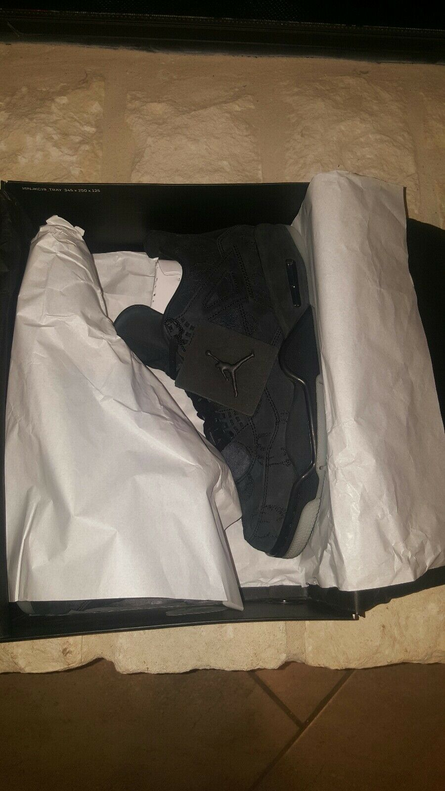 Kaws x Nike Air Jordan 4 retro negro comodo barato barato comodo y hermoso moda bbf676