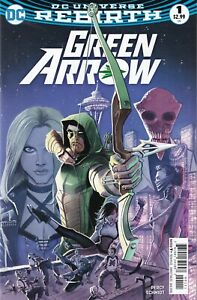 GREEN-ARROW-1-2016-unread-Juan-Ferreyra-Cover-DC-Comics-1ST-PRINT-Percy-Rebirth